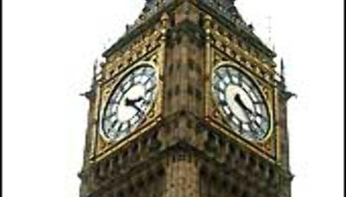 Big Ben kan imponere kortvokste turister.  Foto: Stine Okkelmo