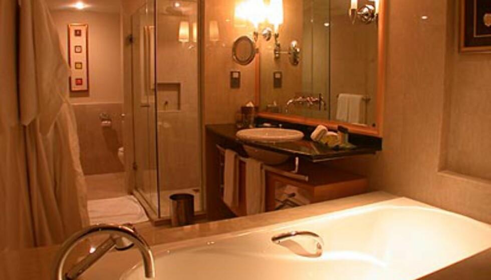 Badet, denne gang med badekaret
