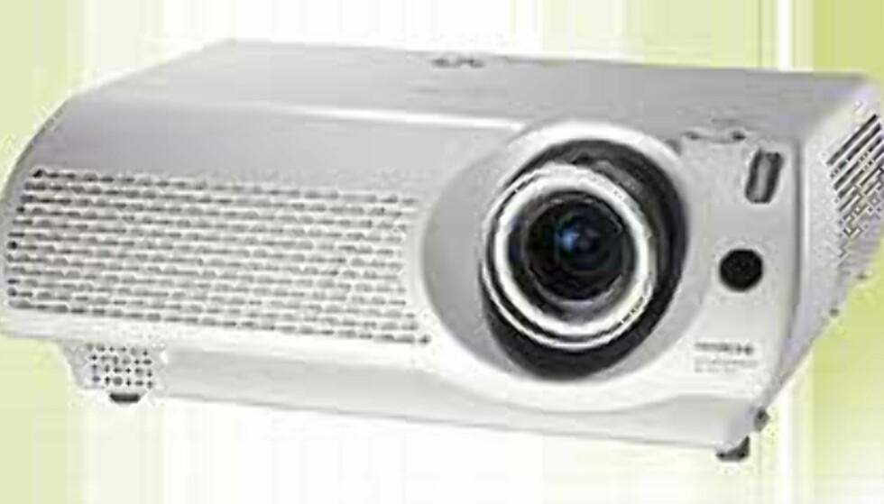 Hitachi PJ-TX10 «Illumina»: støysvak hjemmekino-projektor