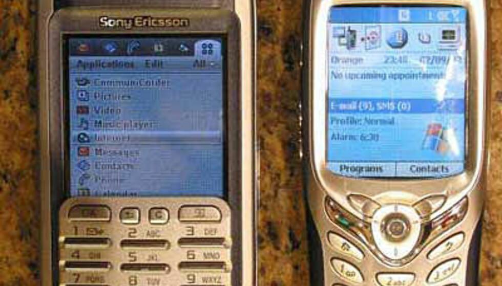 P900 og Windows-mobilen