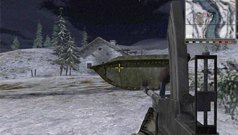En scene fra Telemark