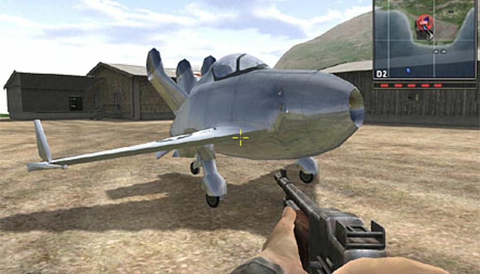 Et av de nye flyene