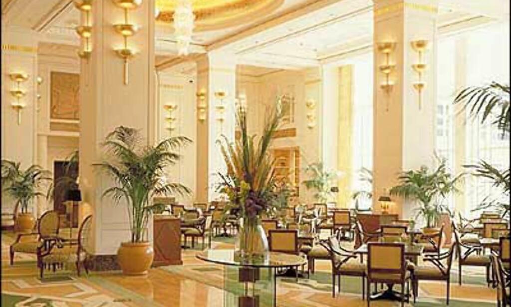 Lobbyen i The Peninsula i Chicago.
