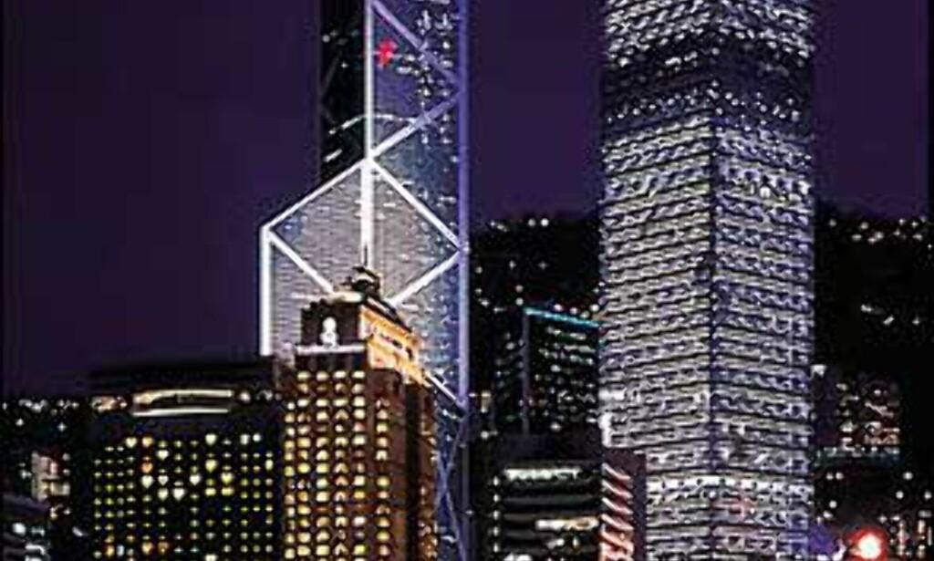 Ritz Carlton ligger midt i smørøyet i Hongkong.