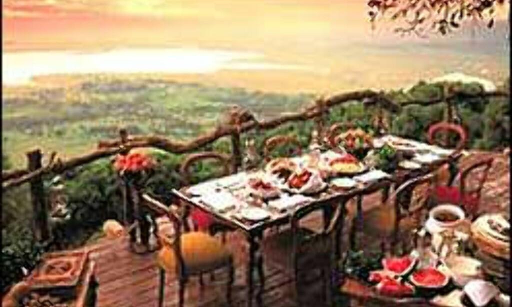 I det populære krateret med det vanskelige navnet ligger Ngorongoro Crater Lodge.