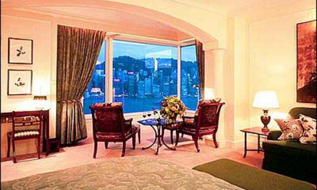 Utsikten er det ikke noe galt med - The Peninsula, Hongkong.