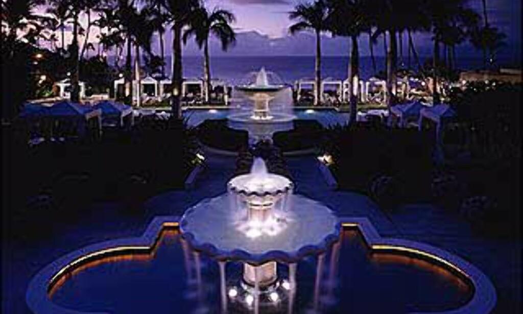 På Maui ligger dette luksusresortet i Four Seasonsgruppen.