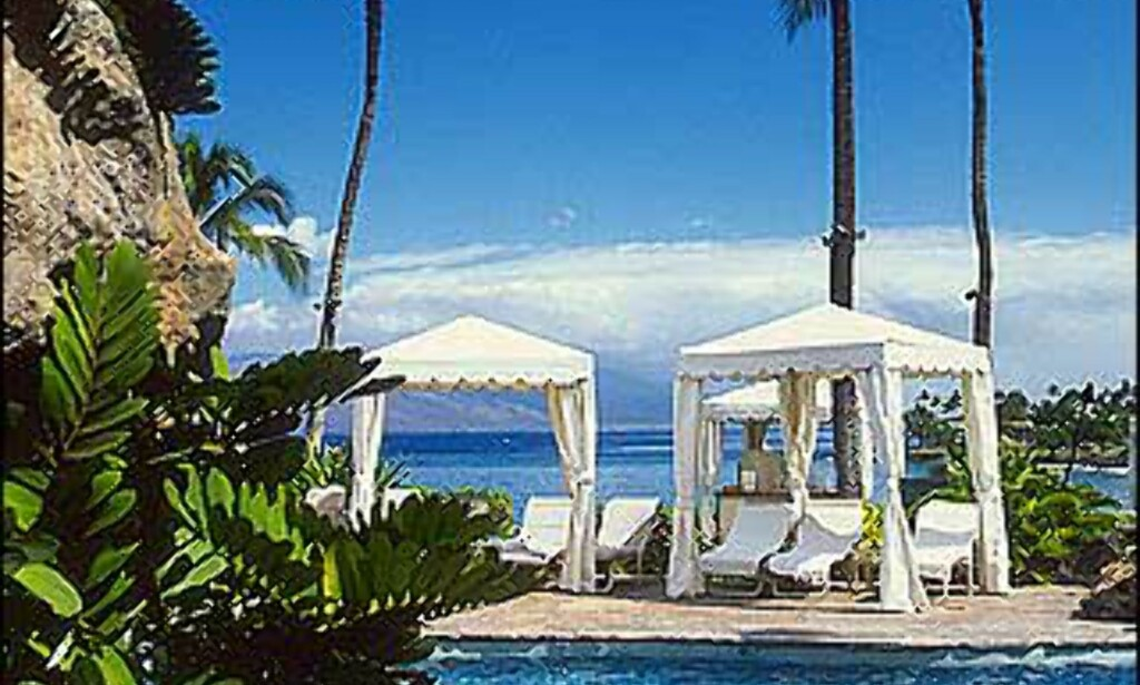 Badeliv på Four Seasons Maui.