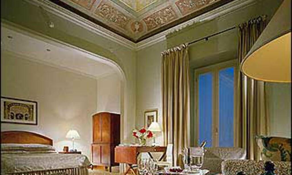 Suite på Four Seasons i Milano.