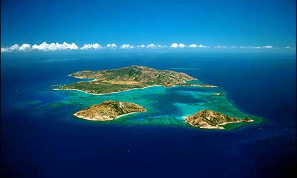 Lizard Island i Great Barrier Reef.