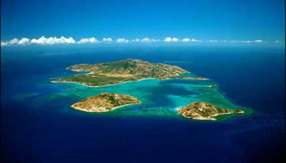 Lizard Island i Great Barrier Reef.