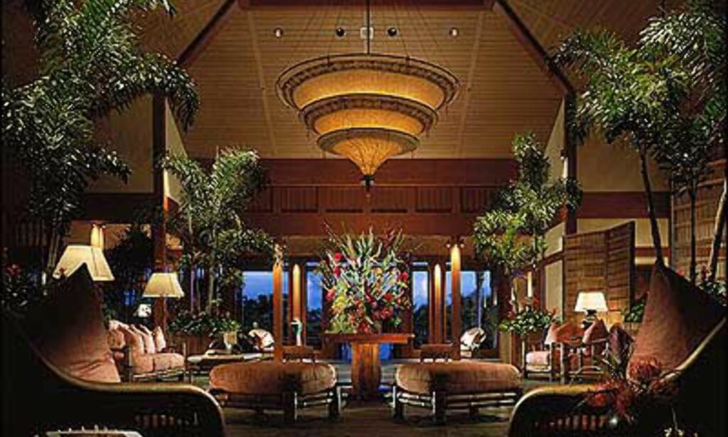 Four Seasons har et resort med hytteluksus på Hawaii.