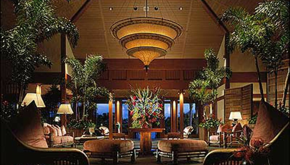 Four Seasons har et resort med hytteluksus på Hawaii.