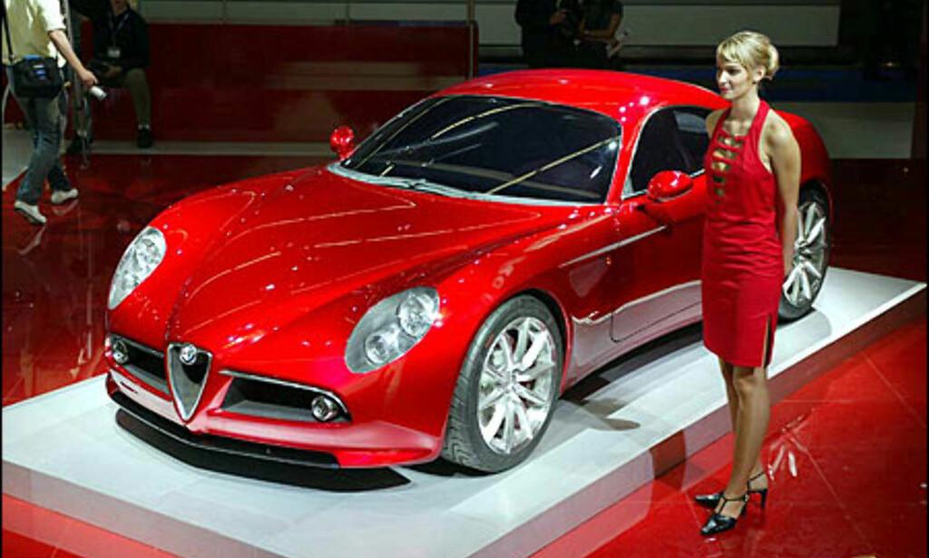image: Alfa Romeo 8c Competizione