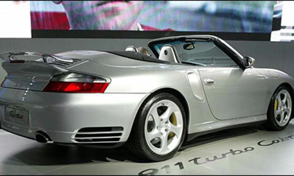 image: Porsche 911 Turbo kabriolet