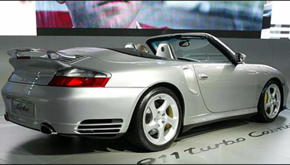 Porsche 911 Turbo kabriolet