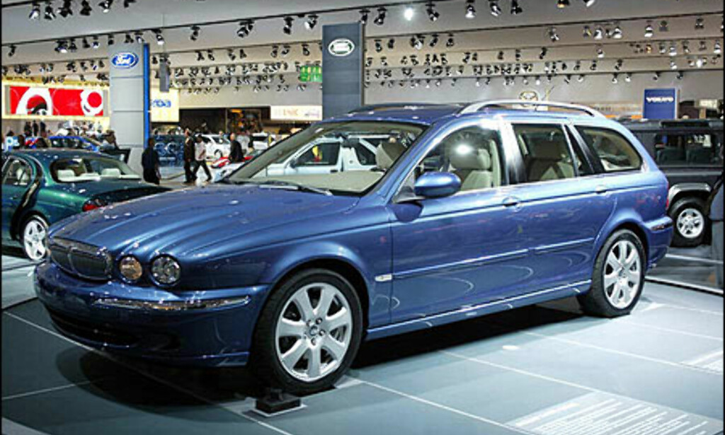 image: Jaguar X-Type stasjonsvogn