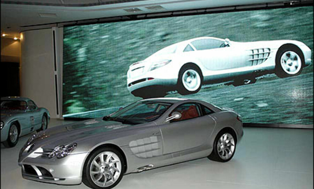 image: Mercedes SLR