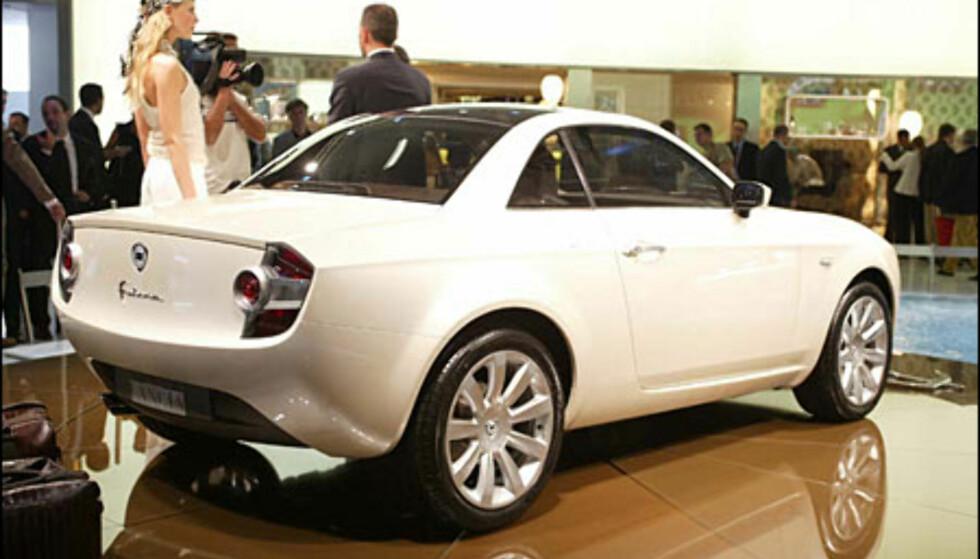 Lancia Fulvia Coupe - designstudie