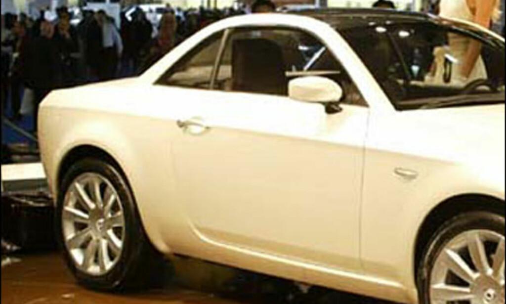image: Lancia Fulvia Coupe - designstudie