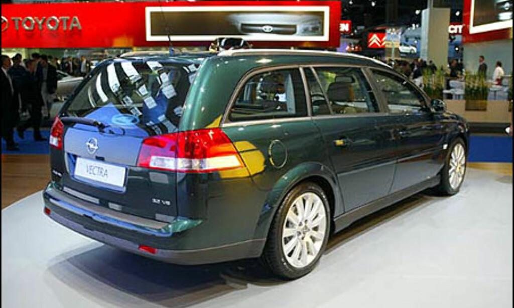 image: Opel Vectra stasjonsvogn