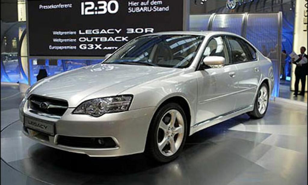 image: Subaru Legacy