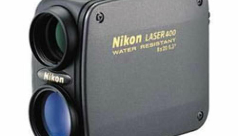 Avstandsmåler (jakt/golf): Nikon 400 Range Master. 2.999,- hos XXL.