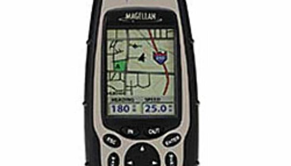 GPS: Magellan Meridian Color GPS. 6.499,- hos XXL.