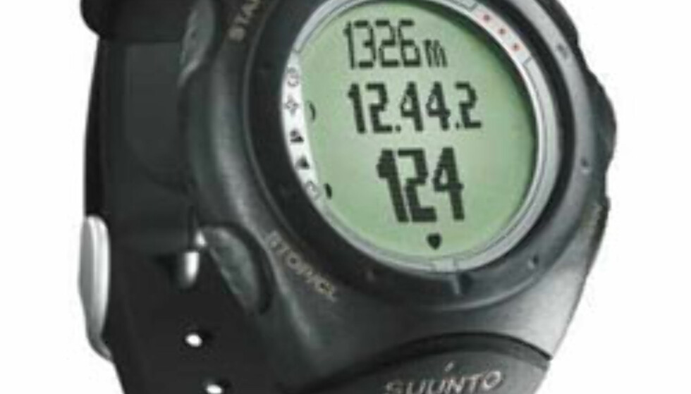 Multifunksjonsklokke: Suunto X6 (pulsmåling, kompass, helningsvinkelmåler, høydemåler, barometer). 3.499,- hos XXL.