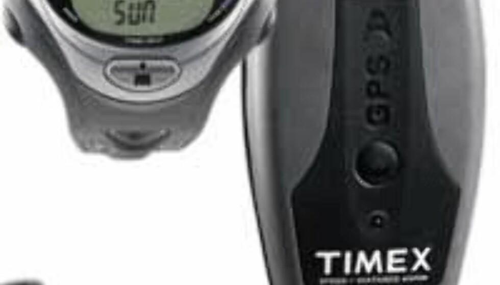 Multifunksjonssystem: Timex® Complete Bodylink System (klokke, pulsmåling, fartsmåling, distansemåling med hjelp av GPS. 3.000,- hos Løplabbet.