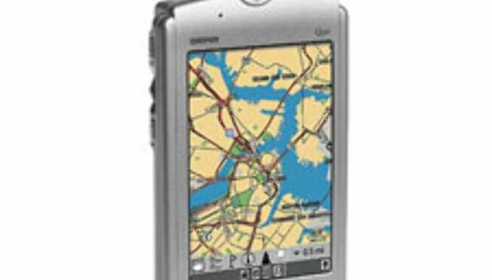 PDA med integrert PGS:  Garmin iQue 3600. $550 i USA.