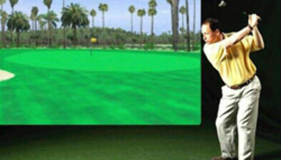 TI golfsimulator. 35.960,- hos www.stargolf.no.