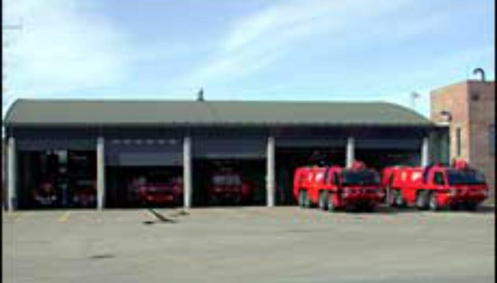 Det blir åpen brannstasjon på OSL Gardermoen.