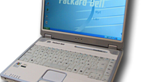 Design-PCer fra Packard Bell