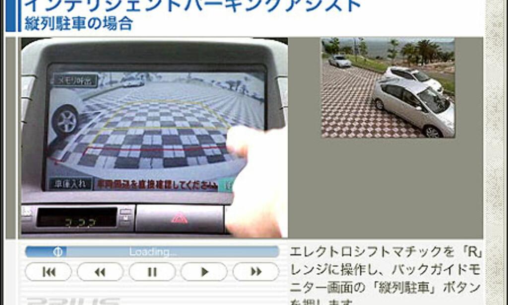 image: Selvparkerende Toyota