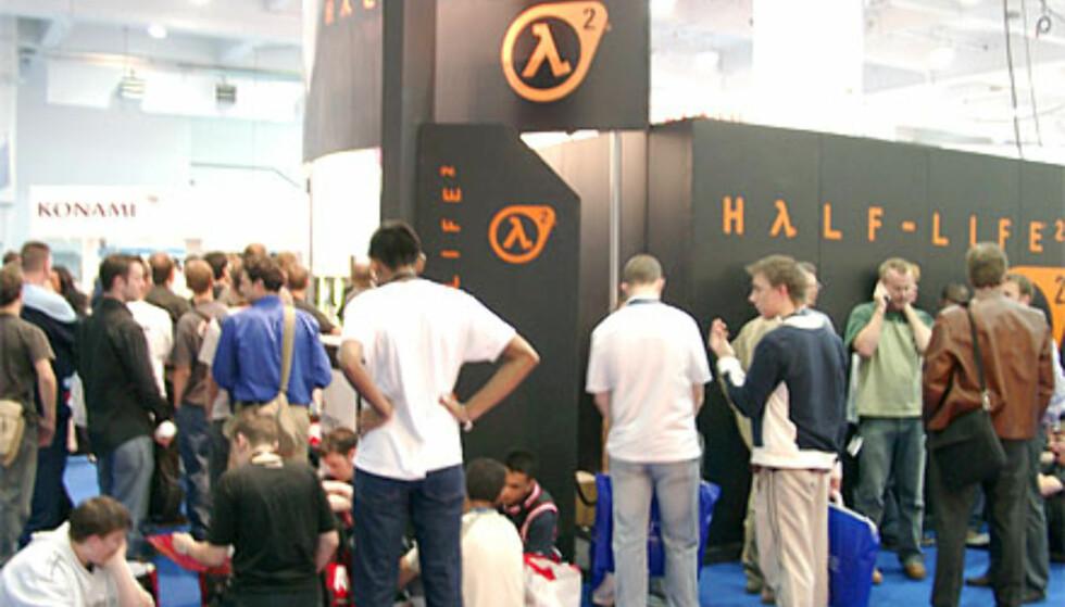 Half-Life 2 tiltrakk seg køer, selv om det ikke ble vist noe nytt fra spillet