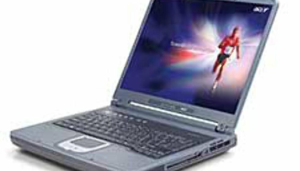 Acer TravelMate 242XCe (9.660 kroner)