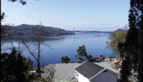Sjøen er ikke langt unna tomta på Hånestangen i Kristiansand.