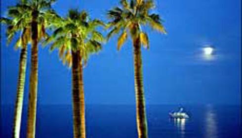 Åse Gustavsen vinner ukens runde med sitt blå bilde fra Monaco. Foto: Åse Gustavsen