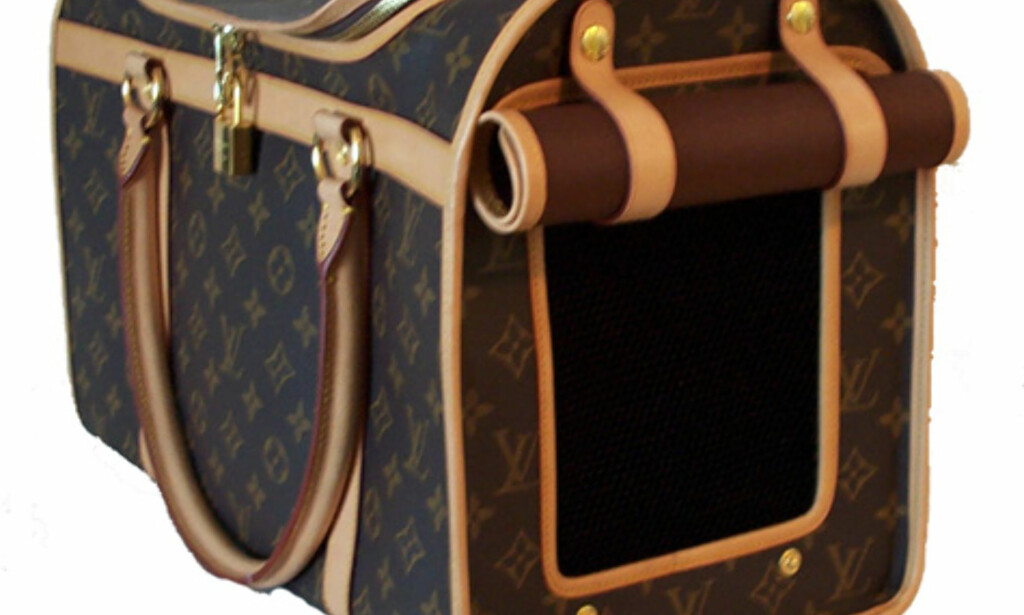 Louis Vuitton Pet Carrier. Kun 295 dollar.