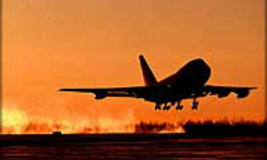 <I>Illustrasjonsfoto:</I> Hun kom for seint til flyet og kunne se langt etter reisen og pengene.