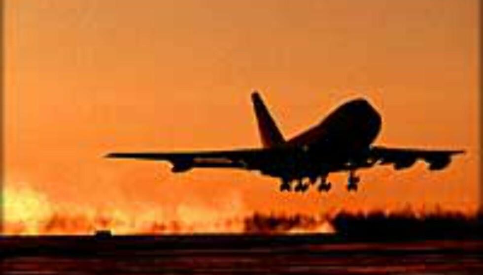 <strong><I>Illustrasjonsfoto:</strong></I> Hun kom for seint til flyet og kunne se langt etter reisen og pengene.