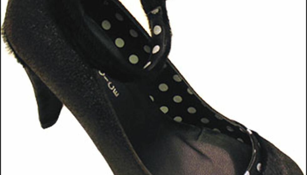 Det er høst, jenter, på med pelsskoene. Disse har britiske Irregular Choice designet, og de fås kjøpt på Lille Vinkel sko i Oslo for 950 kroner. Foto: Inga Holst Foto: Inga Holst