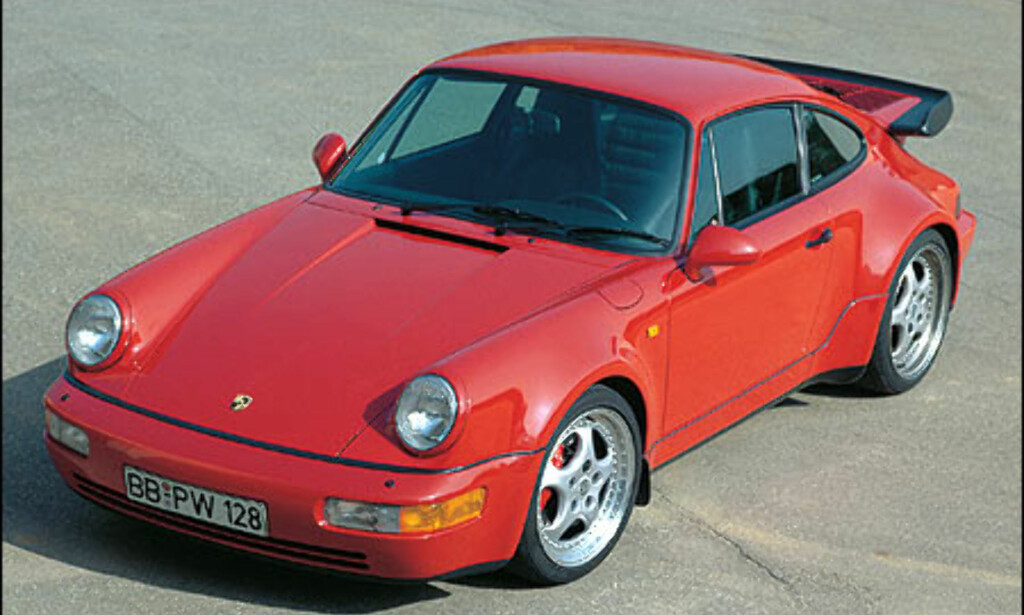 1993: 911 Turbo 3.6 Coupe.