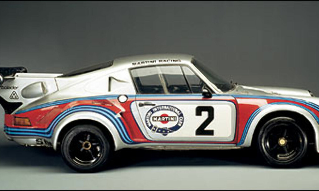 1974: 911 Turbo RSR. Bilen hadde 500 hestekrefter og den største bakspoileren.