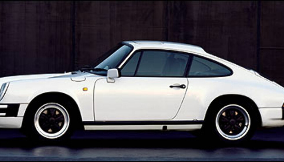 1984: 911 Carrera 3.2 Coupe.