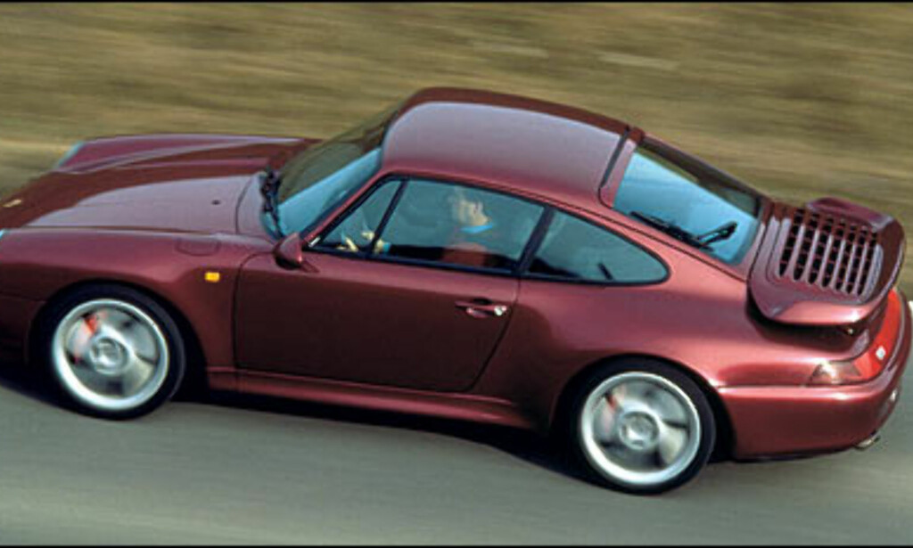 1996: 911 Turbo 3.6 Coupe.