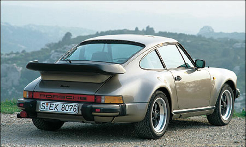 1982: 911 Turbo 3.3 Coupe.