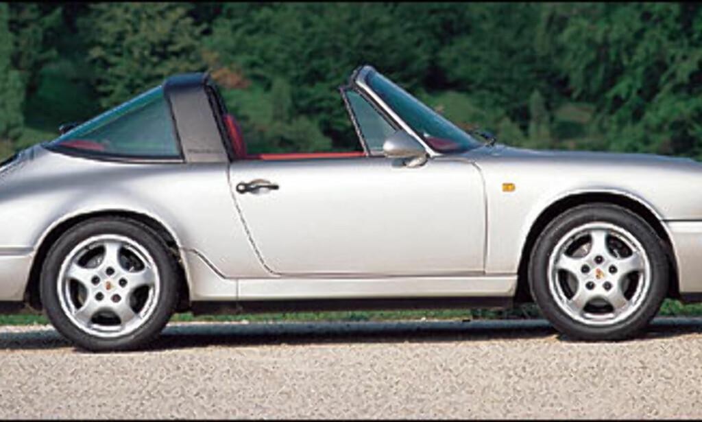 1993: 911 Carrera 2 3.6 Targa.
