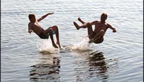 Sprettoppbad. Foto av Stein Tømmerås. Foto: Stein Tømmerås